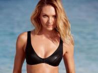 Candice Swanepoel pozuje na plaży w bikini Victoria's Secret