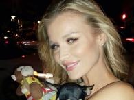 Joanna Krupa często w towarzystwie słodkich psiaków