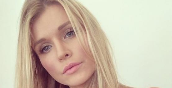 Joanna Krupa - selfie bez makijażu