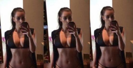 Kim Kardashian - sztuka robienia selfie