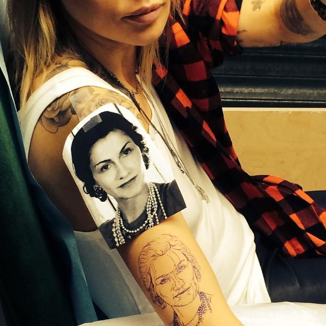 Zdjęcie Maja Sablewska Profil Instagram Tatuaze 04jpg