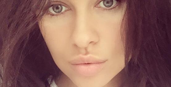 Natalia Siwiec w nieładzie i bez makijażu